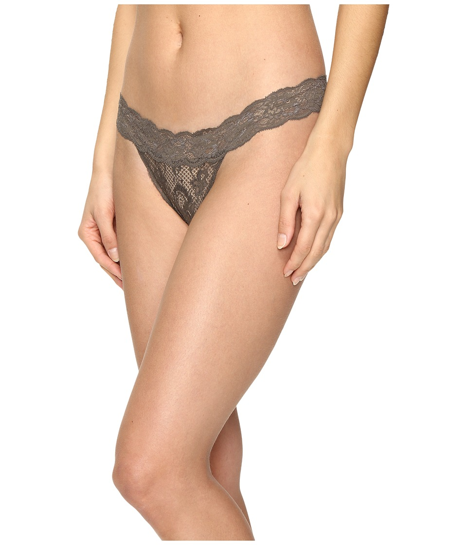 Cosabella - Never Say Never Relaxed Thong (Smoky Grey) Women's Underwear
