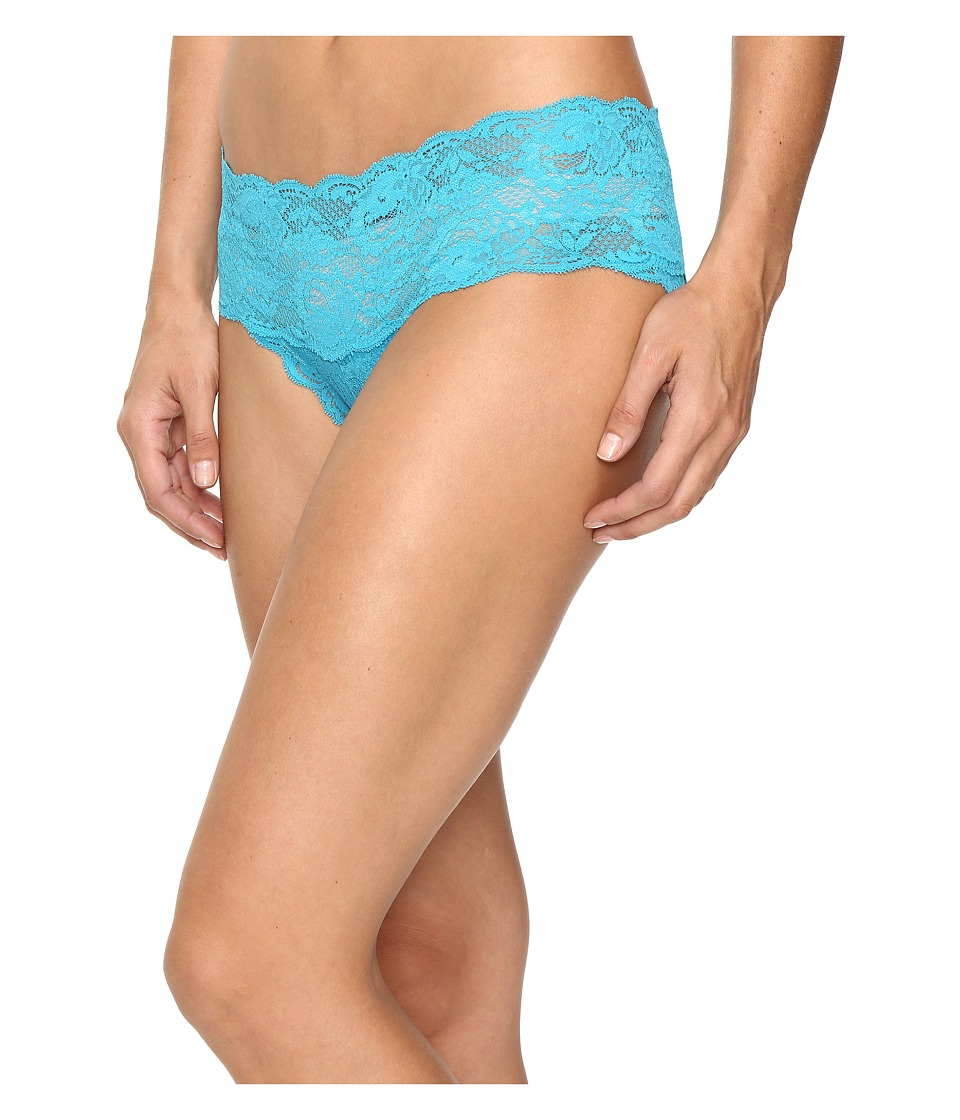 Cosabella - Never Say Never Hottie Lowrider Hotpants (Picasso Blue) Women's Underwear