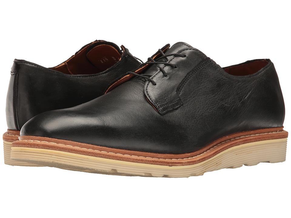 Allen Edmonds - Cove Drive (Charcoal Leather) Men's Lace Up Cap Toe Shoes