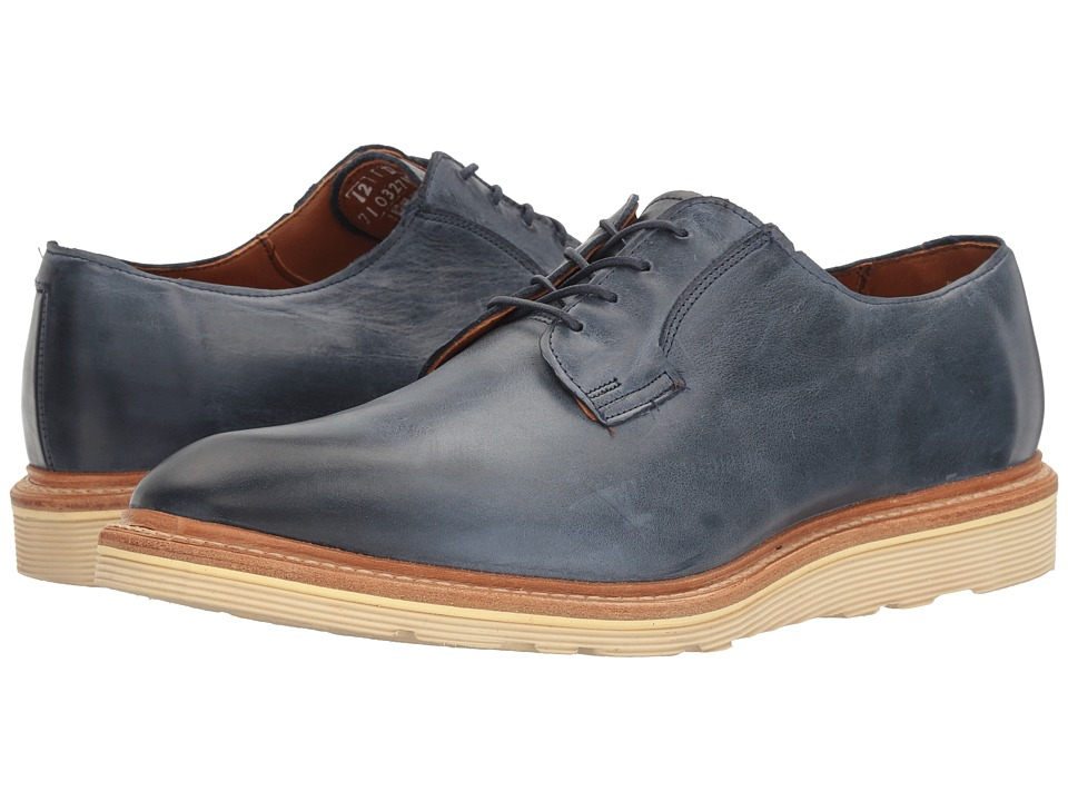 Allen Edmonds - Cove Drive (Navy Leather) Men's Lace Up Cap Toe Shoes