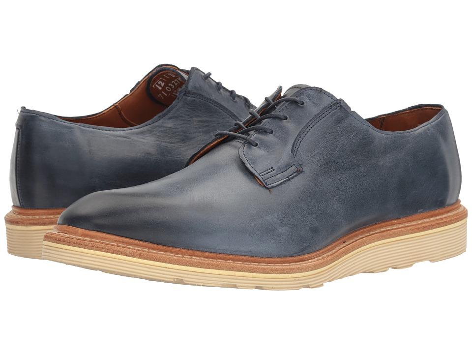 Allen Edmonds - Cove Drive (Navy Leather) Men's Lace Up Cap Toe Shoes