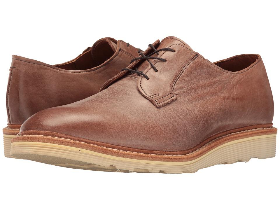 Allen Edmonds - Cove Drive (Brown Leather) Men's Lace Up Cap Toe Shoes