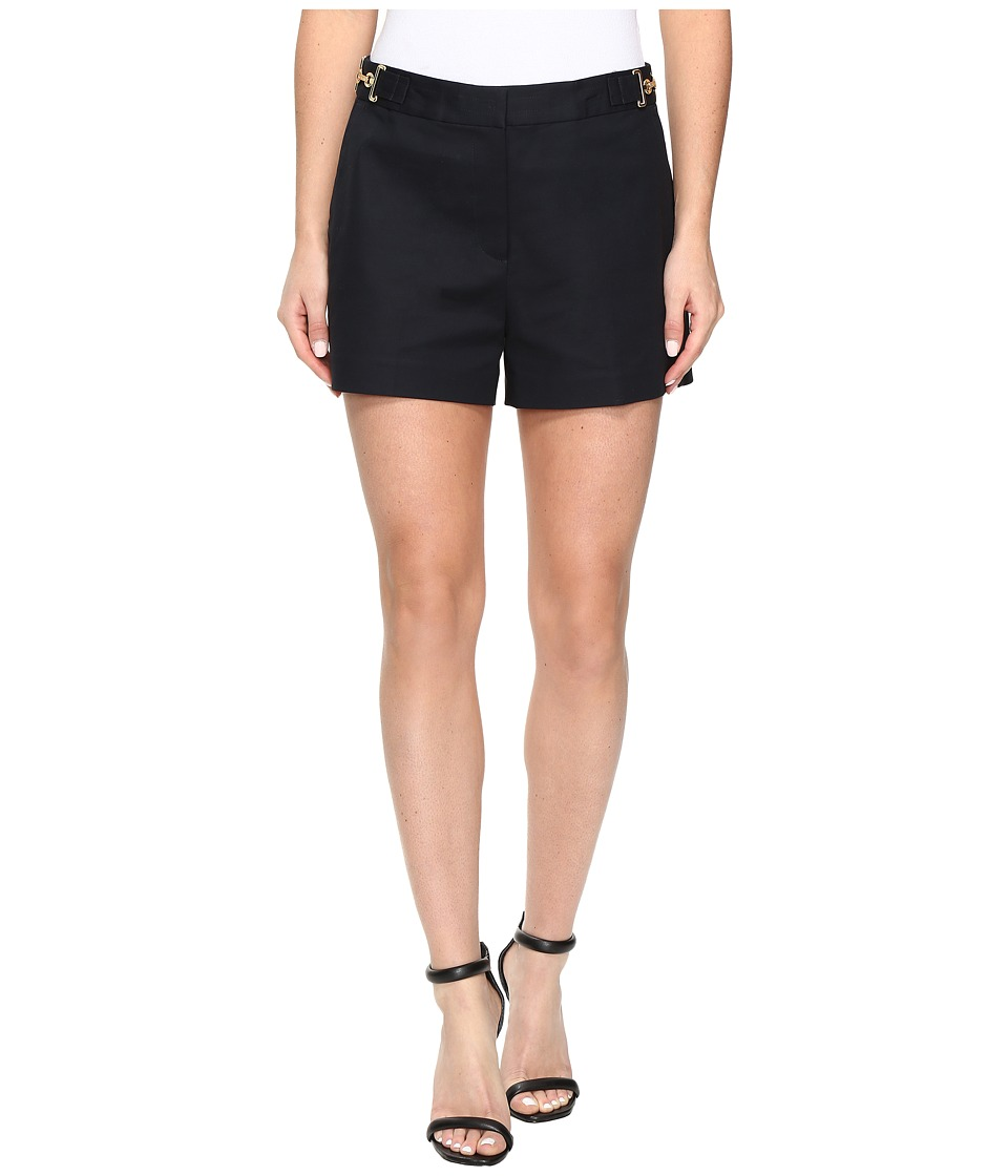 MICHAEL Michael Kors - High Waist Stitch Shorts (New Navy) Women's Shorts