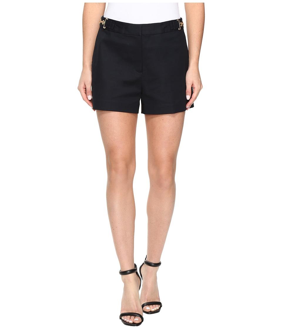 MICHAEL Michael Kors - High Waist Stitch Shorts (New Navy) Women's Shorts