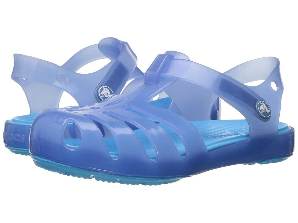 Crocs Kids - Isabella Sandal PS (Toddler/Little Kid) (Dusty Blue) Girls Shoes