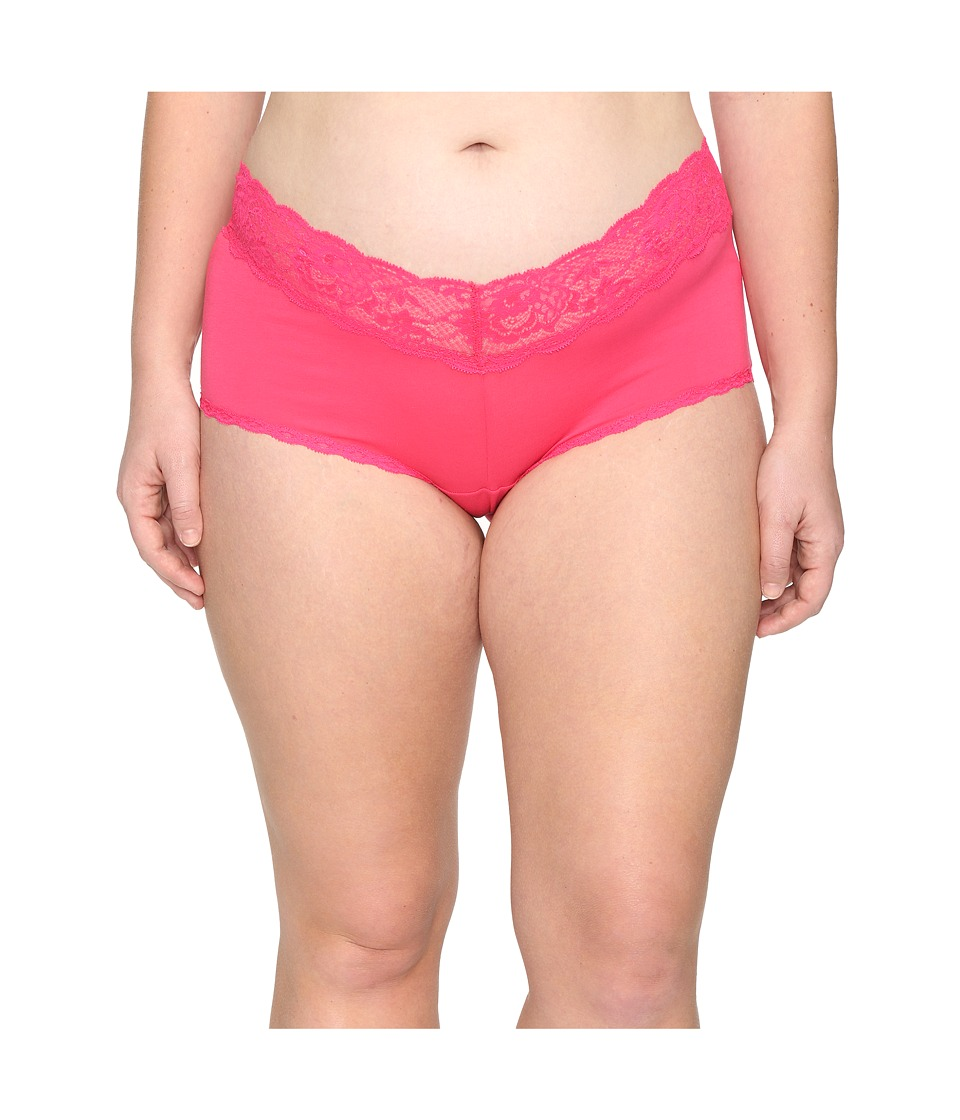 Cosabella - Extended Size Never Say Never Cheekie Hotpant (Hot Pink) Women's Underwear