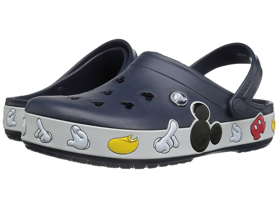 Crocs - Crocband Mickey Clog (Multi) Clog Shoes