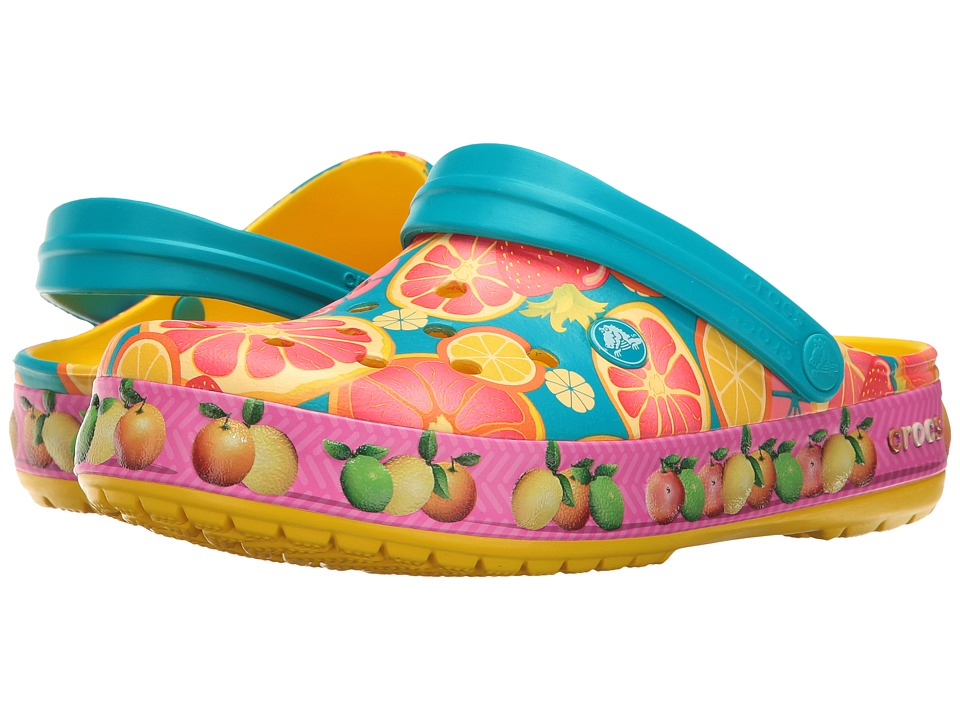 Crocs - Crocband Fruit Clog (Lemon) Clog Shoes
