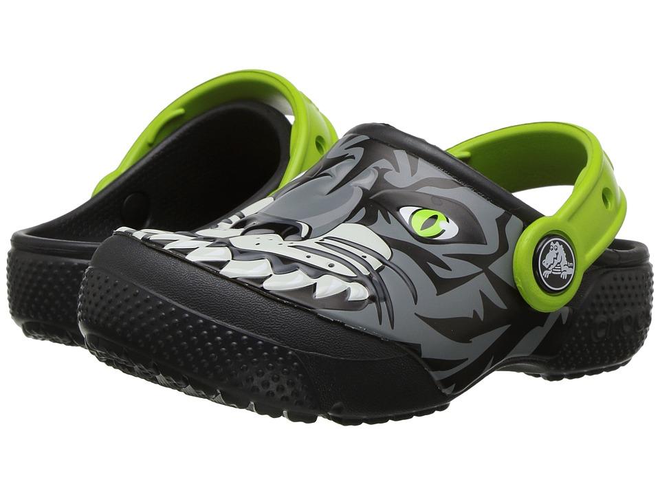 Crocs Kids - CrocsFunLab Clog (Toddler/Little Kid) (Tiger/Graphite) Boys Shoes