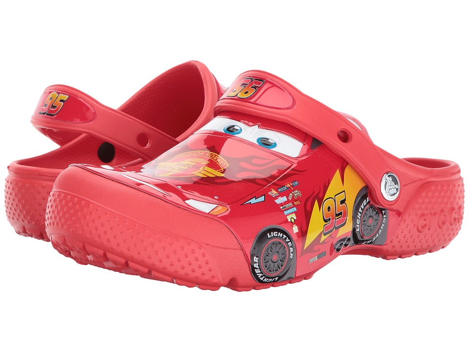 Crocs Kids - CrocsFunLab Cars Lightning McQueen Clog (Toddler/Little Kid) (Flame) Boys Shoes