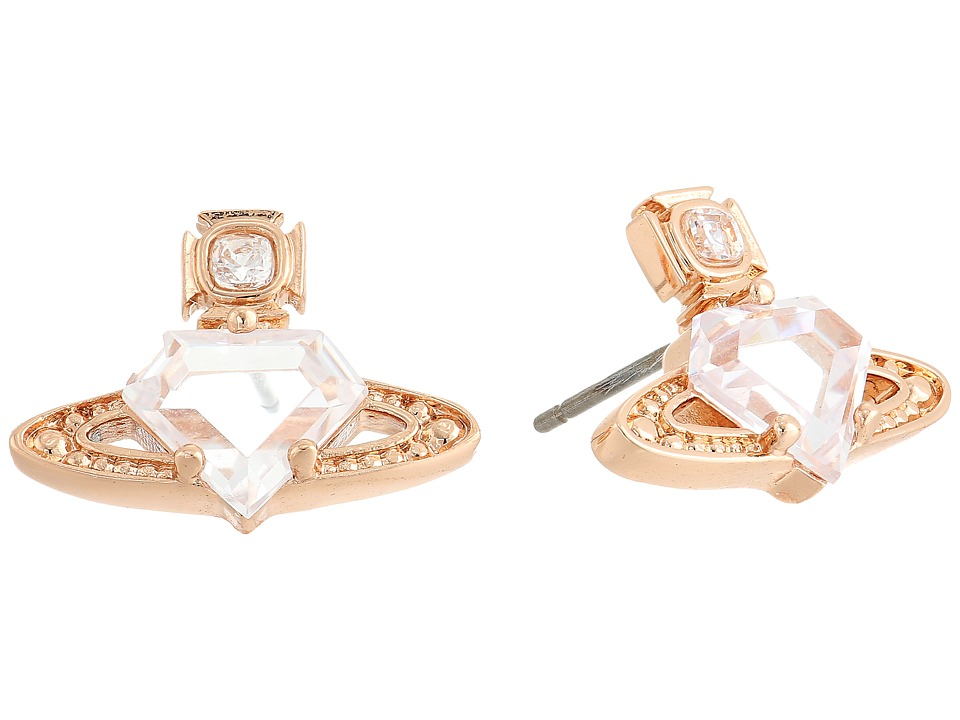 Vivienne Westwood - Sinead Earrings (White Cubic Zirconia/White Crystal) Earring