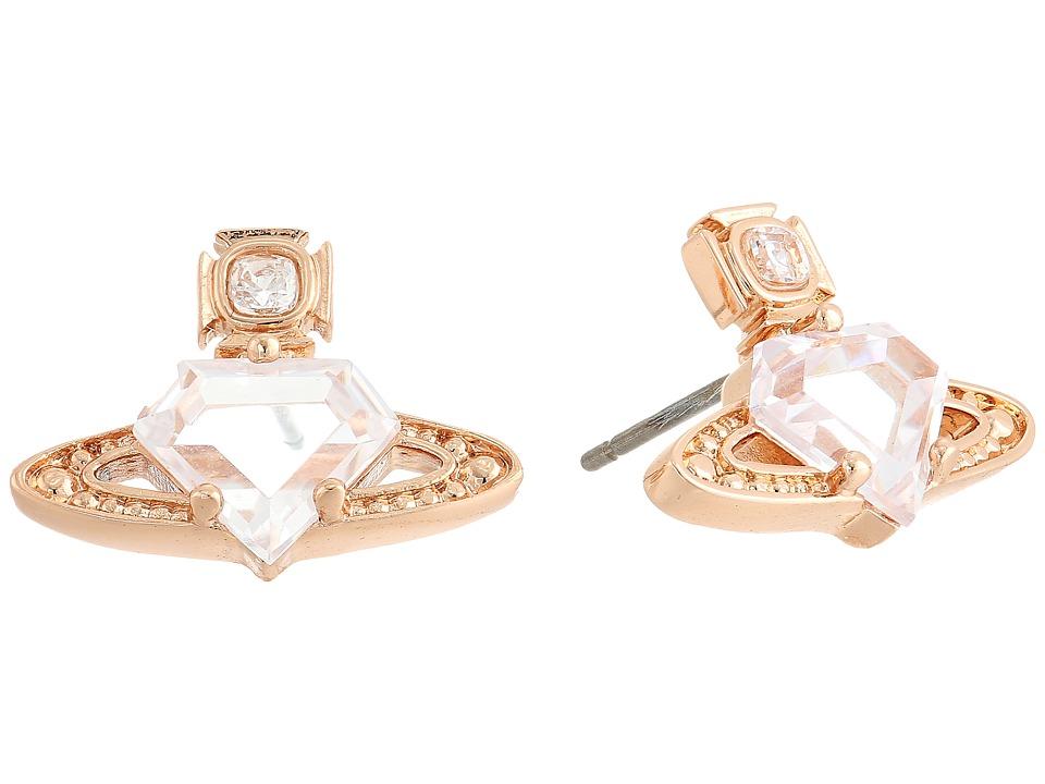Vivienne Westwood - Sinead Earrings (White Cubic Zirconia/White Crystal) Earring