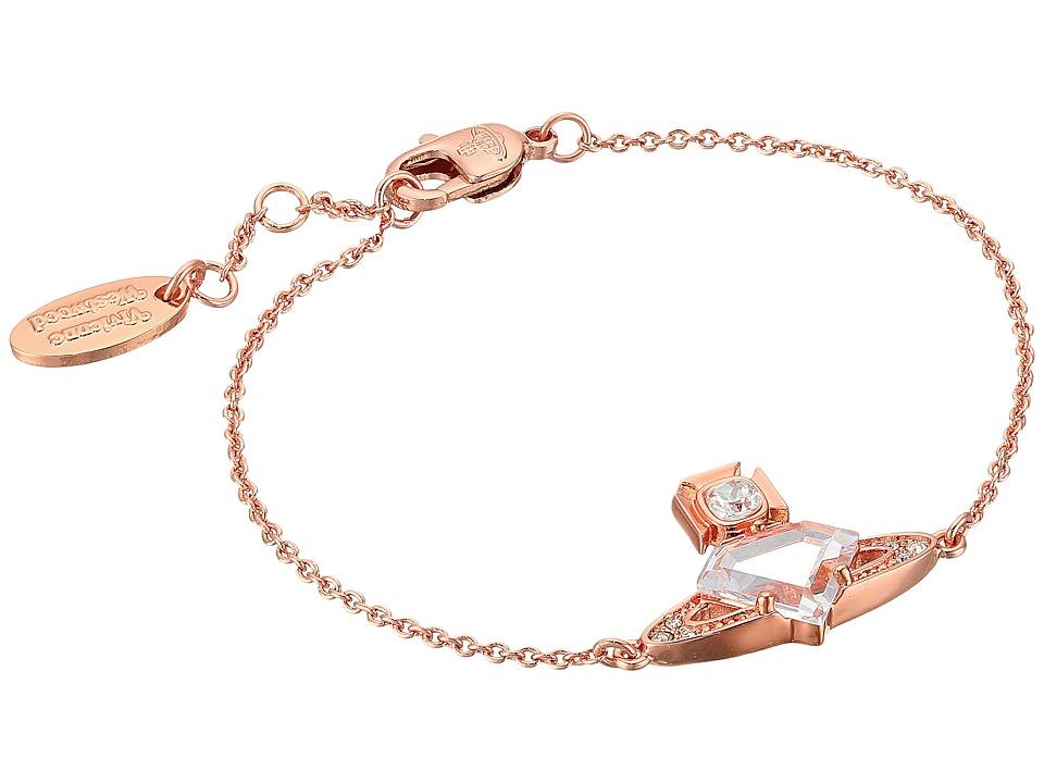 Vivienne Westwood - Sinead Bracelet (White Cubic Zirconia/White Crystal) Bracelet
