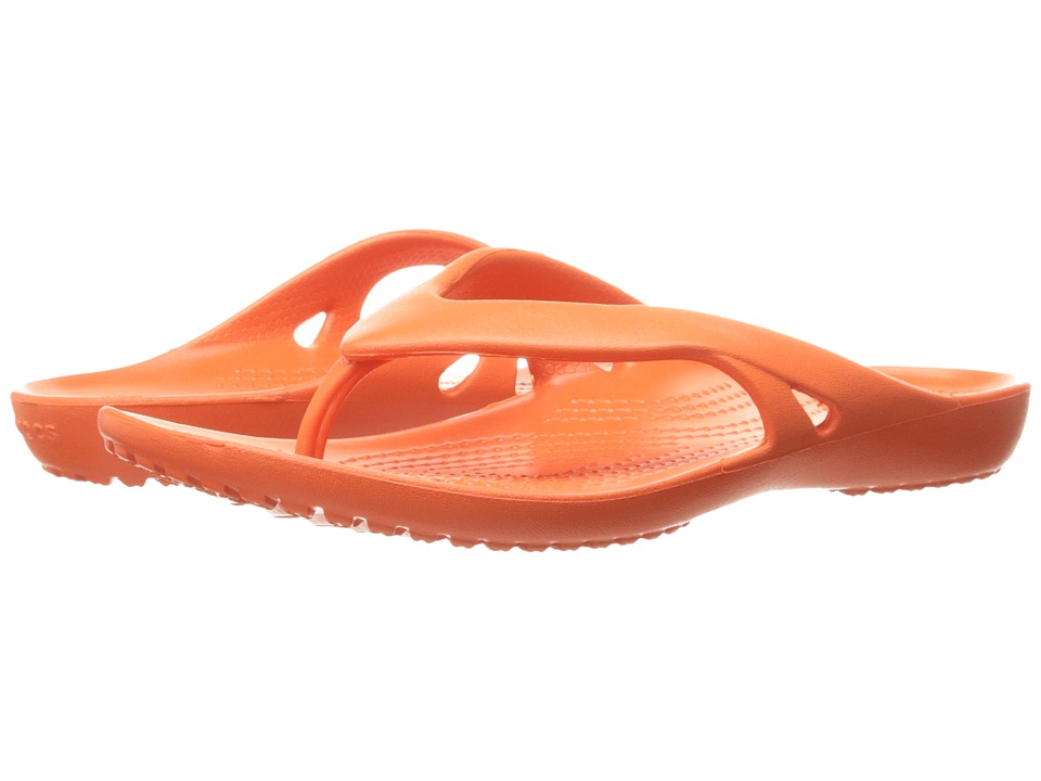 Crocs - Kadee II Flip (Tangerine) Women's Sandals