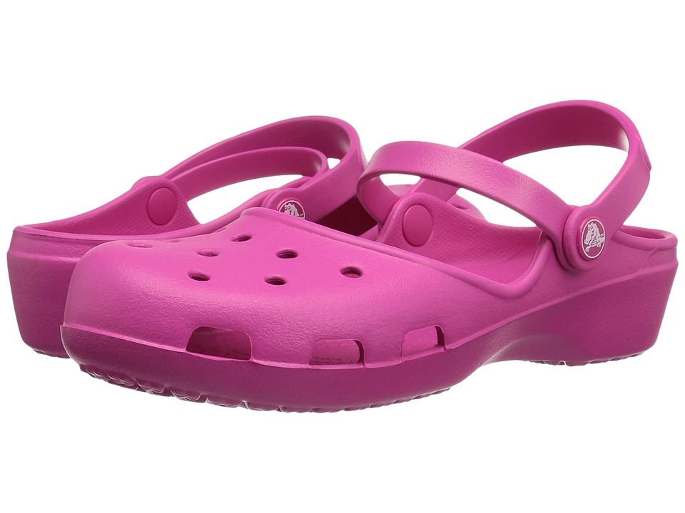 Crocs - Karin Clog (Candy Pink) Women's Clog Shoes