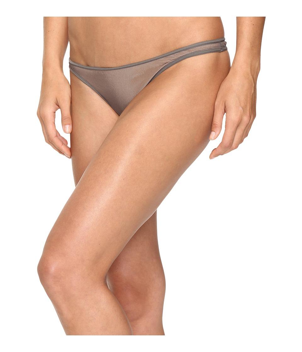 Cosabella - Soir New Classic Lowrider Thong (Smoky Grey) Women's Underwear