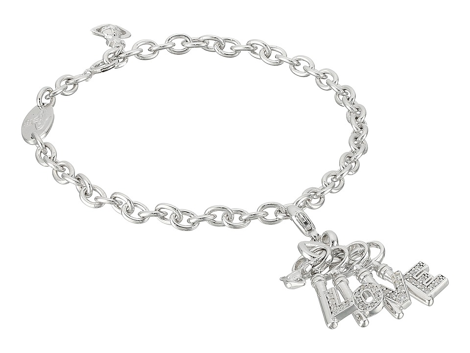 Vivienne Westwood - Lipari Charm Bracelet (Sterling Silver) Charms Bracelet