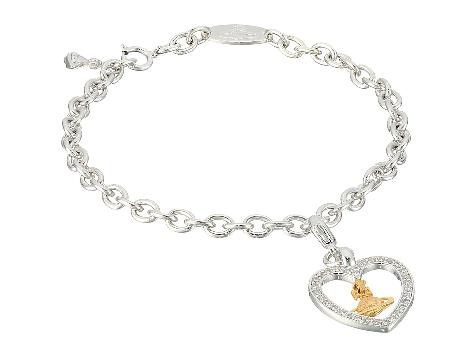 Vivienne Westwood - Capri Charm Bracelet (Sterling Silver) Charms Bracelet