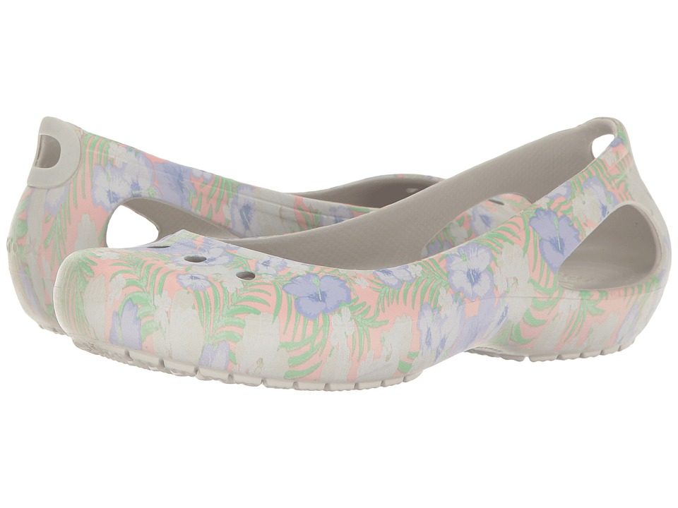 Crocs - Kadee Graphic Flat (Light Pink/Floral) Women's Shoes