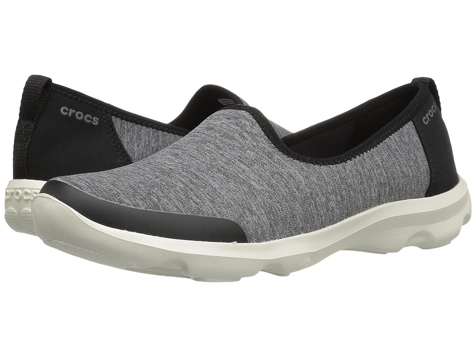 Crocs - Busy Day Skimmer NM Heathered (Grey) Women's Shoes