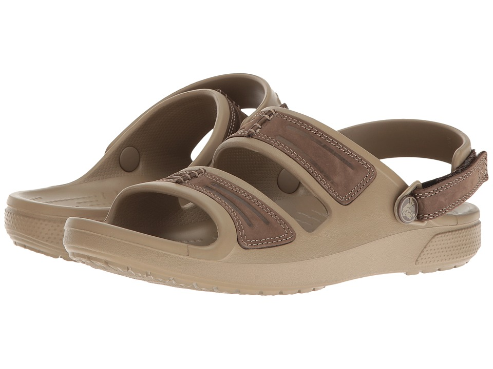 Crocs Yukon Mesa Sandal (Espresso/Kahki) Men
