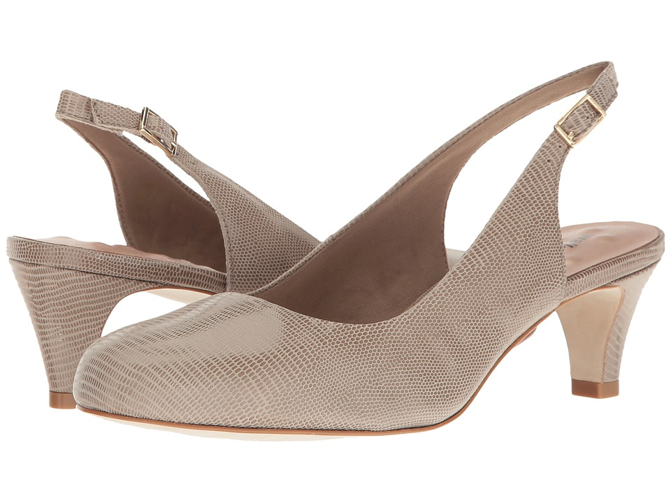Walking Cradles - Jolly (Taupe Lizard) Women's 1-2 inch heel Shoes