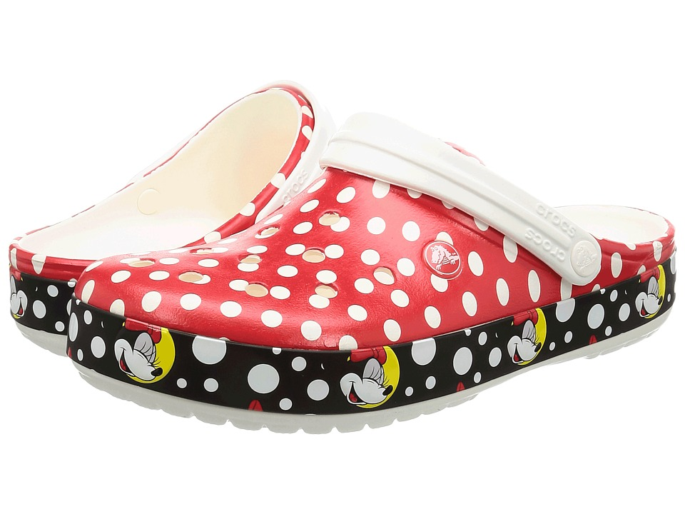 Crocs - Crocband Minnie Clog (Multi) Clog Shoes