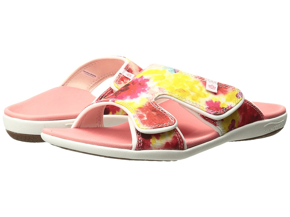 Spenco - Kholo English Bouquet (Pink) Women's Sandals