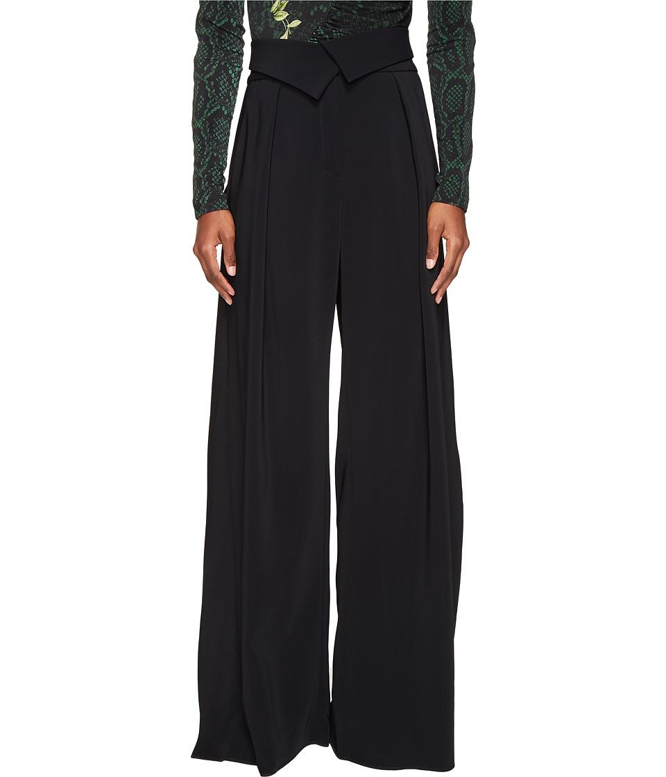 Preen by Thornton Bregazzi - Carson Statement Trousers (Black) Women's Casual Pants