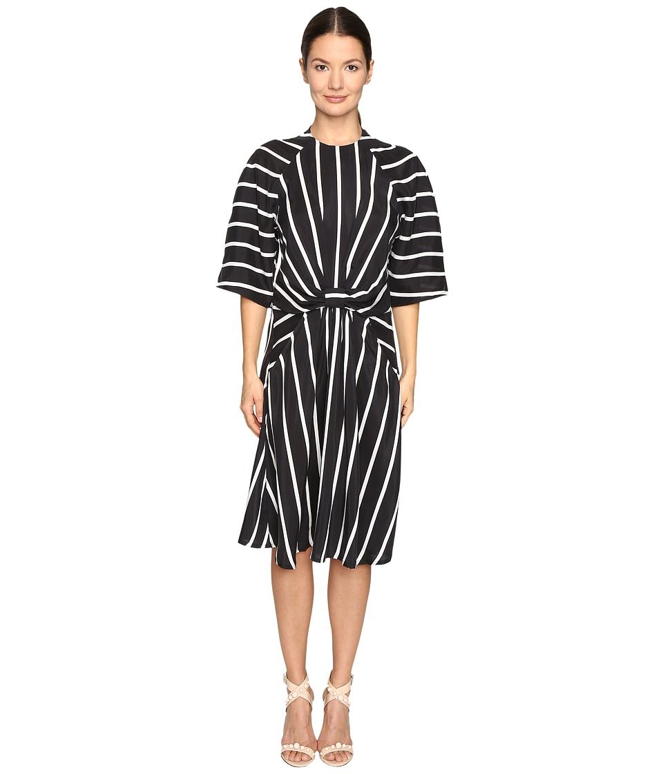 Preen by Thornton Bregazzi Gracie Printed Sandwashed Silk Dress