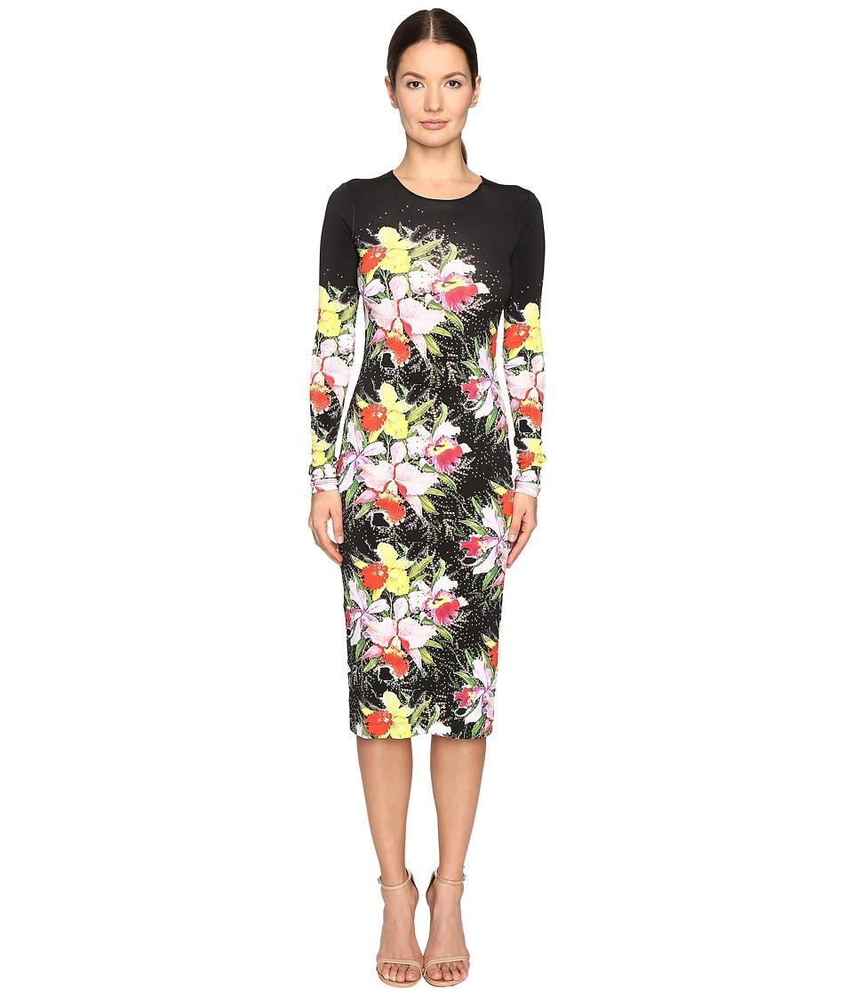 Preen by Thornton Bregazzi - Myra Printed Jersey Dress (Tin Flower) Women's Dress