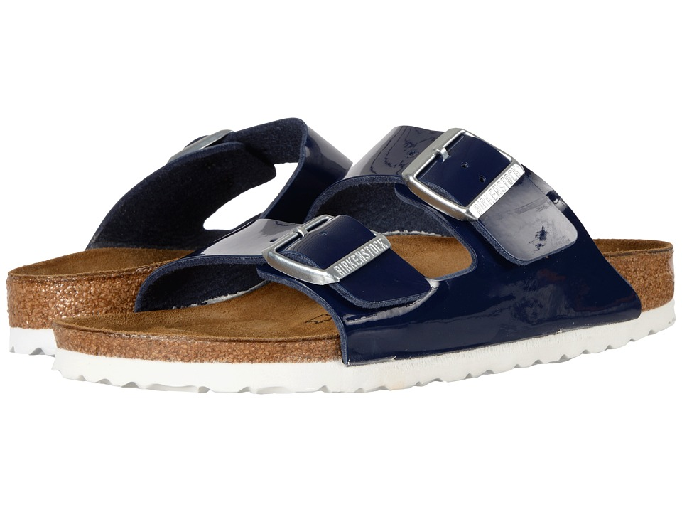Birkenstock - Arizona (Dress Blues Birko-Flor) Women's Shoes