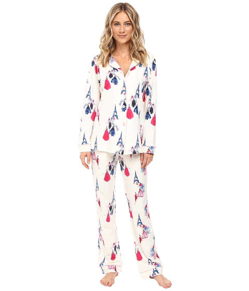 BedHead - Long Sleeve Classic Pajama Set (Fashion Week) Women's Pajama Sets