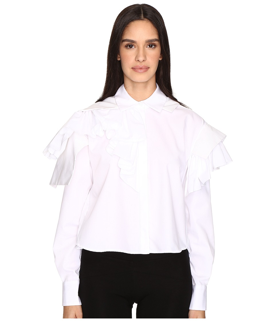 Preen by Thornton Bregazzi - Esta Shirt (White) Women's Clothing