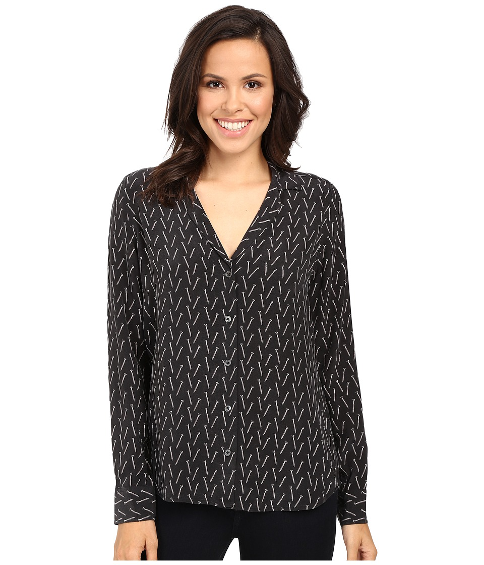 EQUIPMENT - Adalyn Blouse (True Black) Women's Blouse