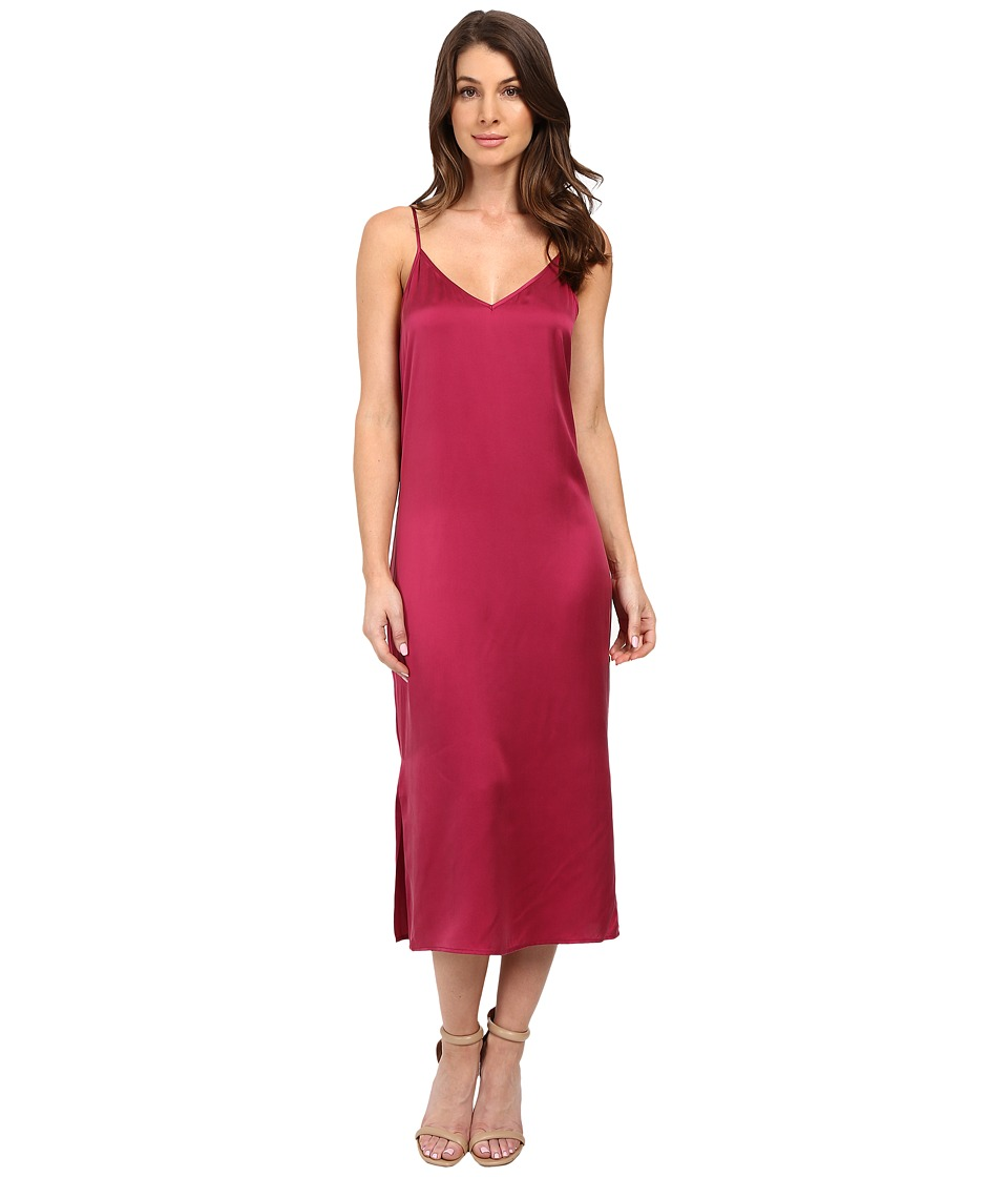EQUIPMENT - Anika Slip Dress (Damson) Women's Dress