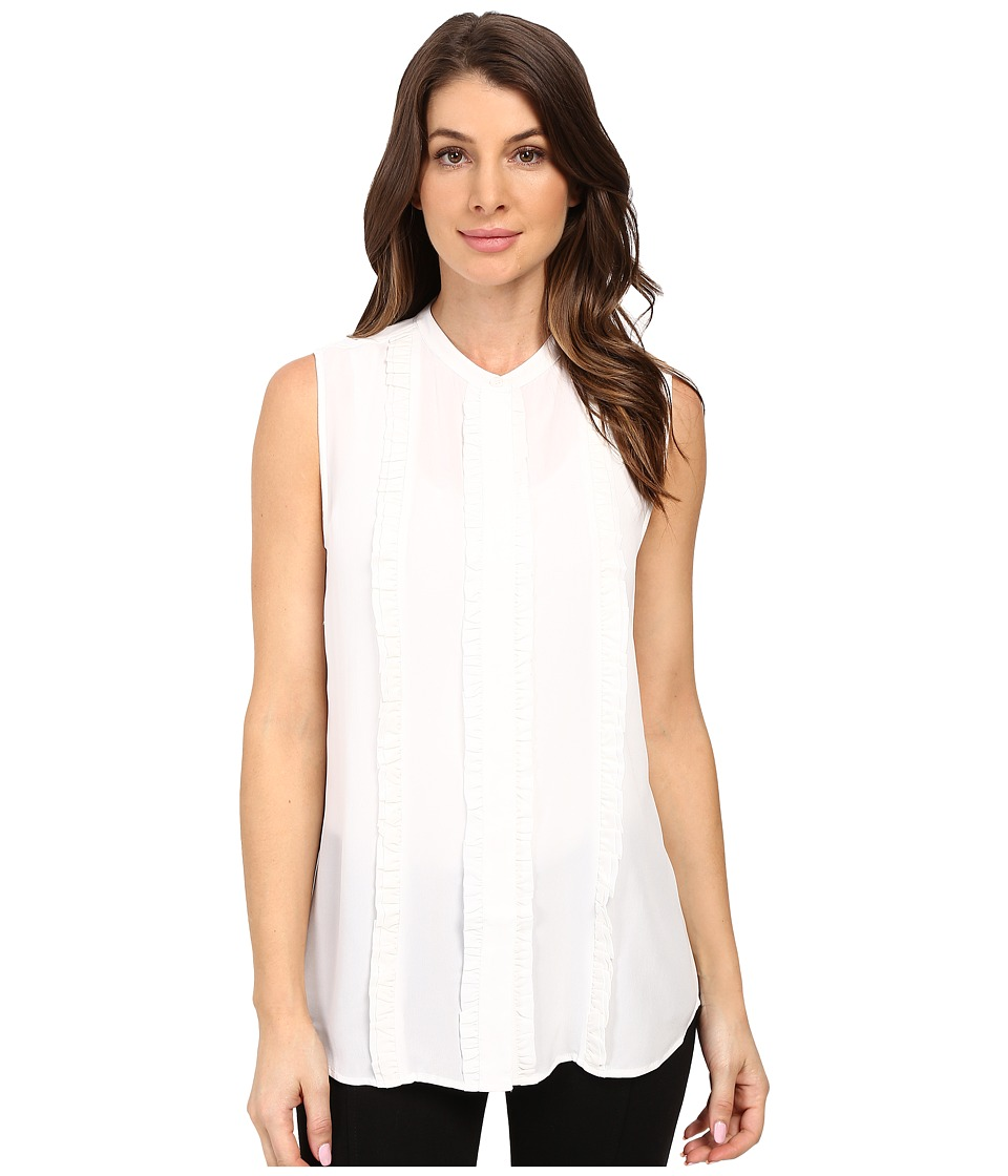 EQUIPMENT - Colbie Blouse (Bright White) Women's Sleeveless