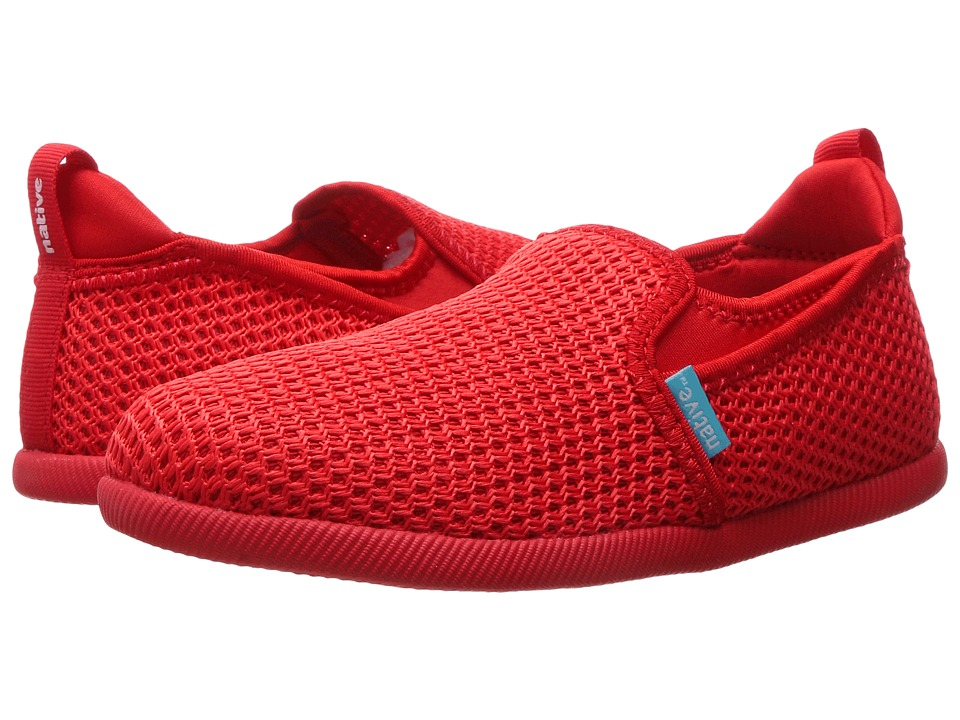 Native Kids Shoes - Cruz (Little Kid) (Torch Red/Torch Red) Kids Shoes