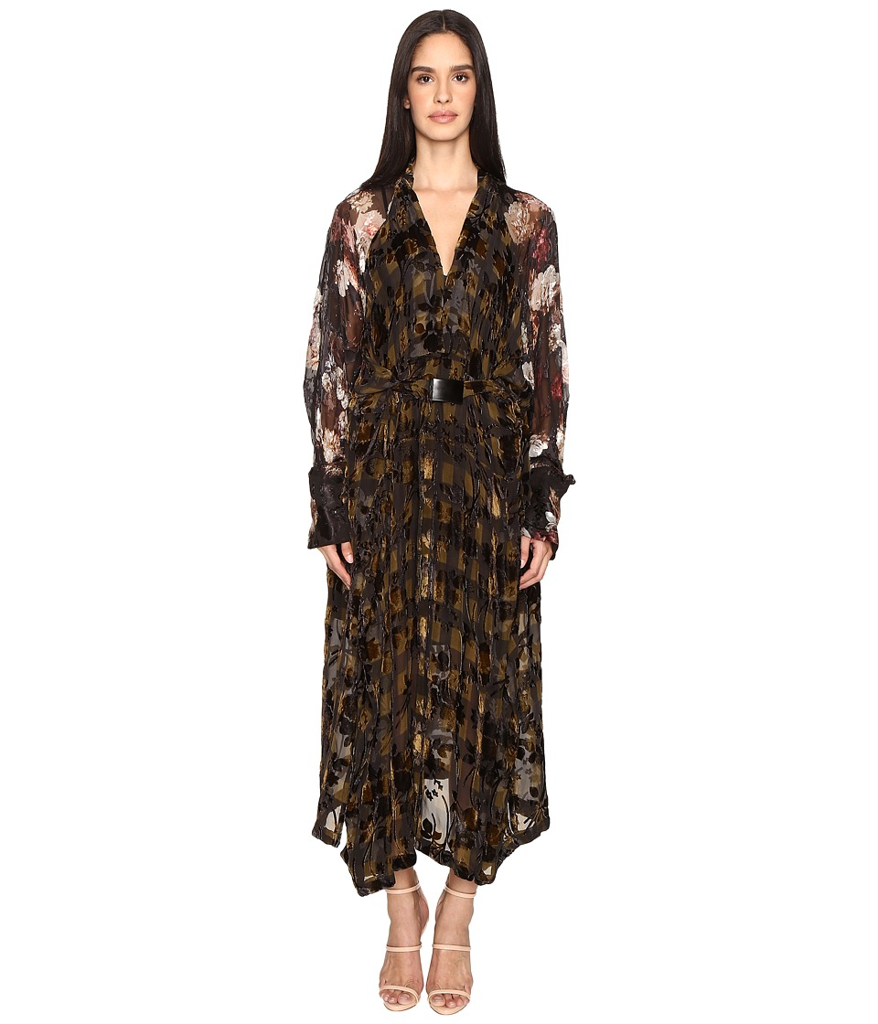 Preen by Thornton Bregazzi - Winona Dress (Painted Flower) Women's Dress