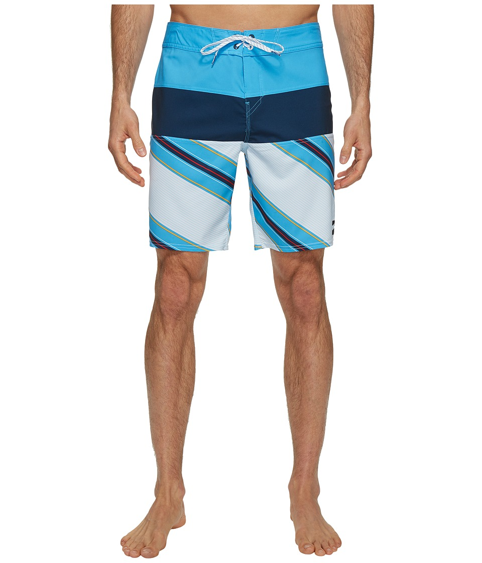 Billabong - Tribong X Boardshorts (Sky) Men's Swimwear