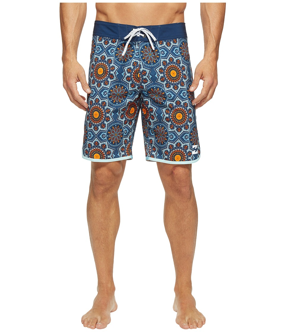 Billabong - 73 X Line Up Boardshorts (Indigo) Men's Swimwear