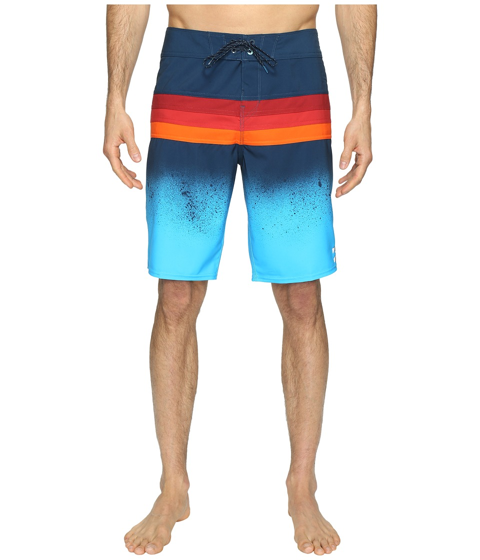 Billabong - Momentum X Boardshorts (Blue) Men's Swimwear