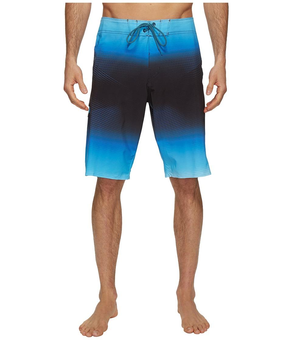 Billabong - Fluid X Boardshorts (Blue) Men's Swimwear