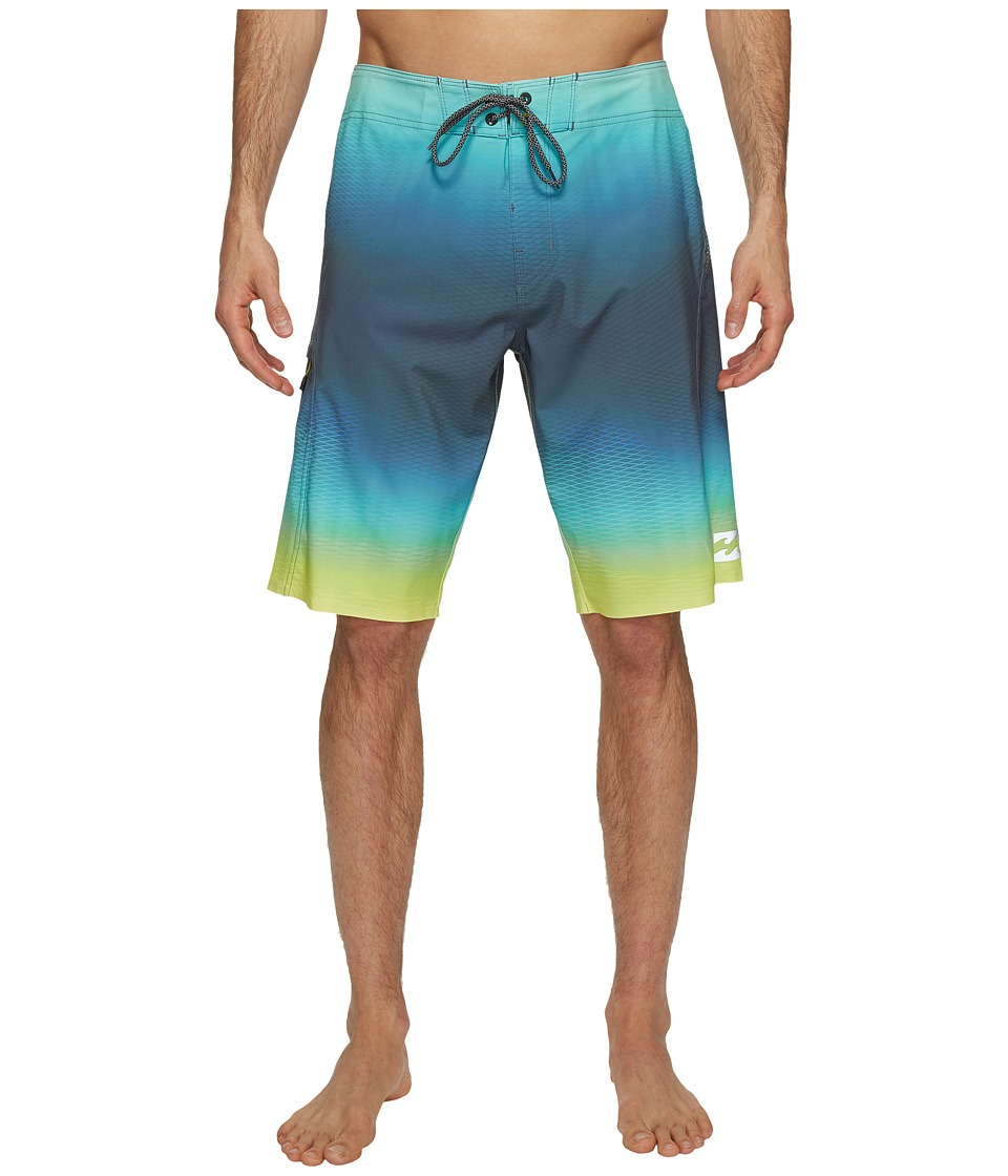 Billabong - Fluid X Boardshorts (Lime) Men's Swimwear