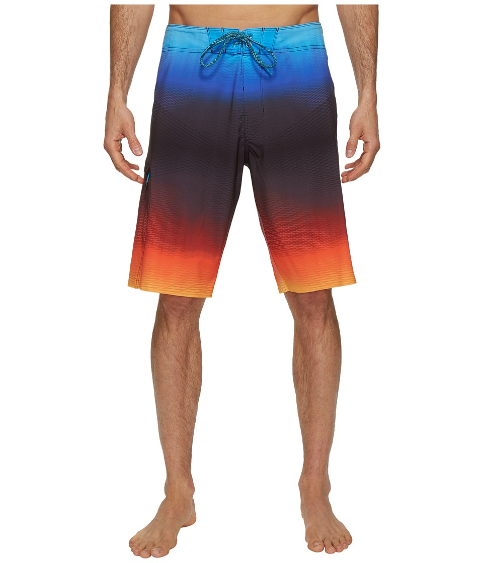 Billabong - Fluid X Boardshorts (Red) Men's Swimwear