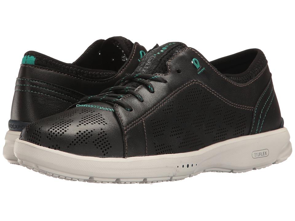 Rockport - TruFlex Lace to Toe (Black) Women's Shoes