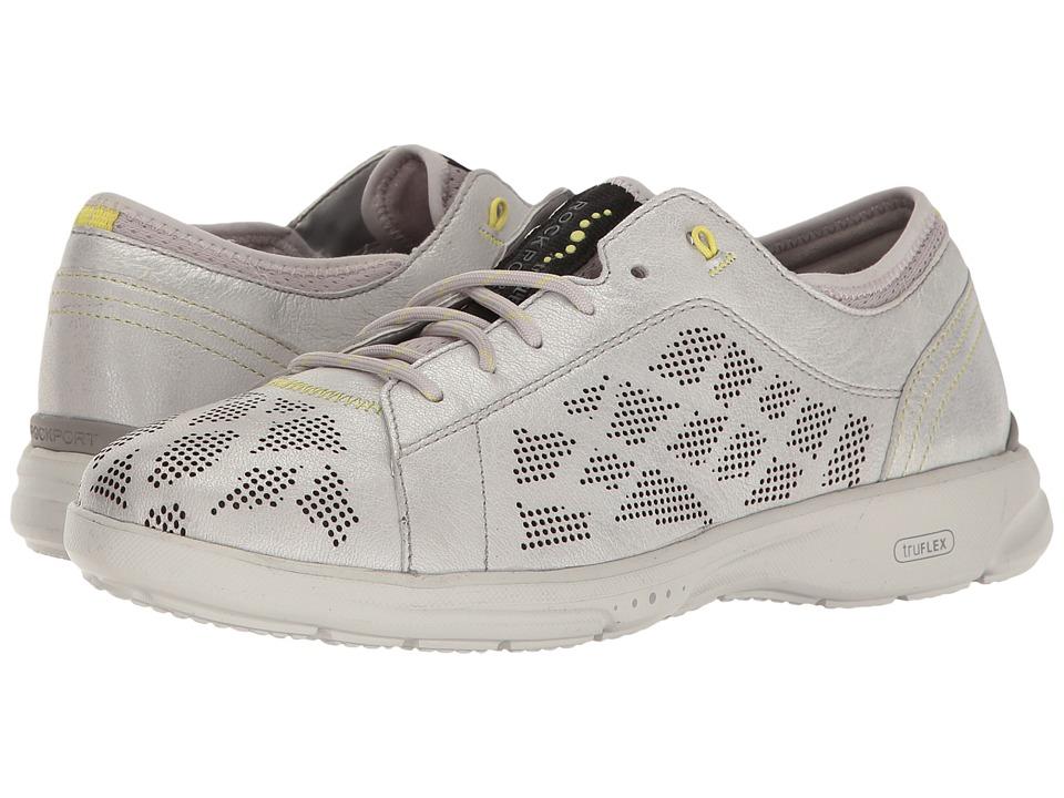 Rockport - TruFlex Lace to Toe (Silver) Women's Shoes
