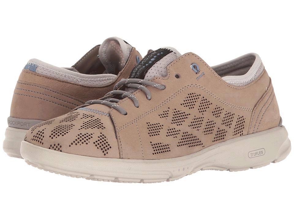Rockport - TruFlex Lace to Toe (Sand Nubuck) Women's Shoes