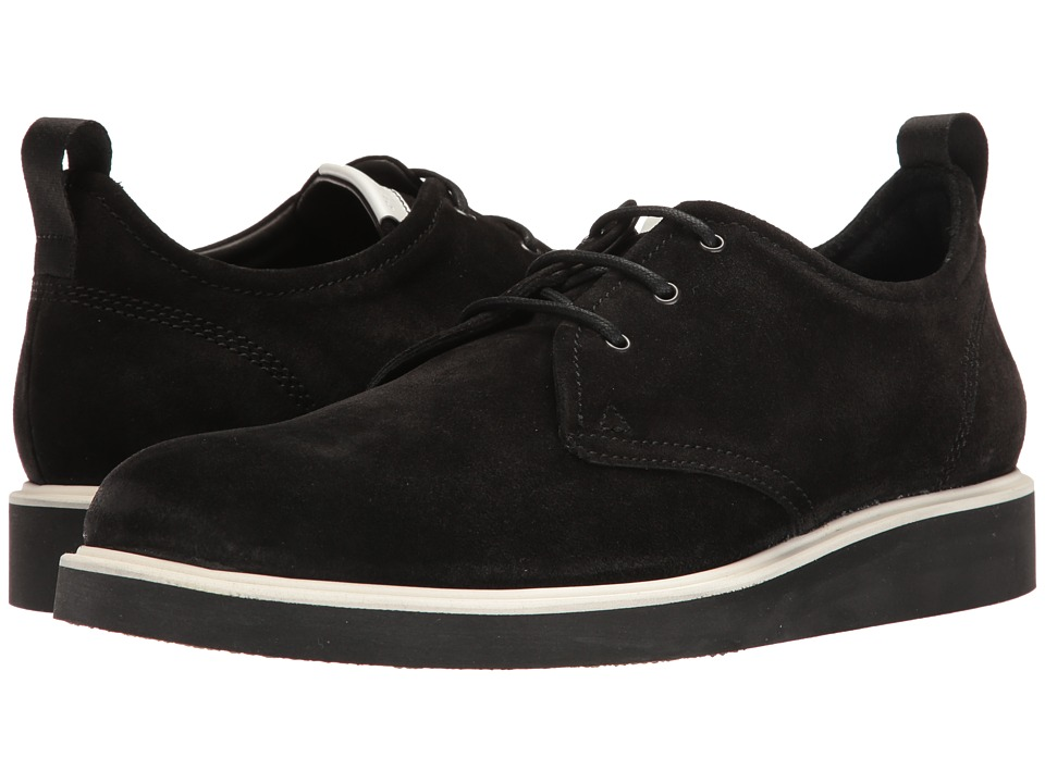 rag & bone - Elliot Oxford (Black Waxy) Men's Lace up casual Shoes