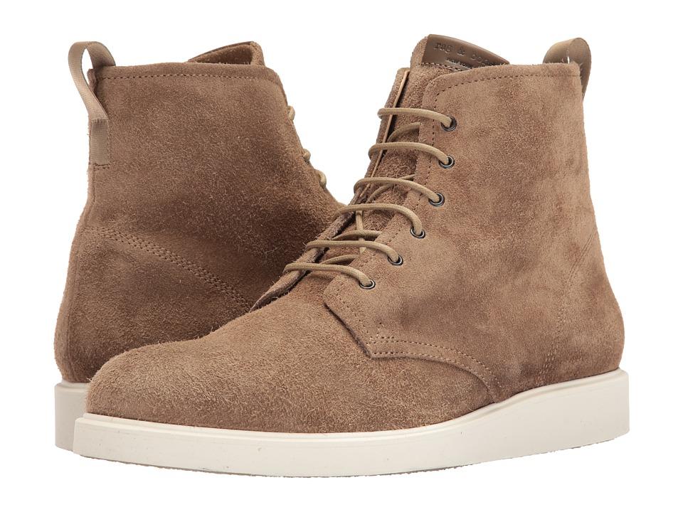 rag & bone - Elliot Lace Boot (Antelope Suede) Men's Lace-up Boots